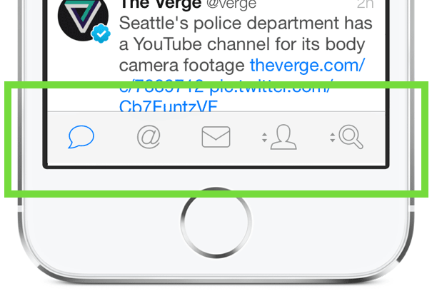 Tweetbot's icons are clear in the context of Twitter