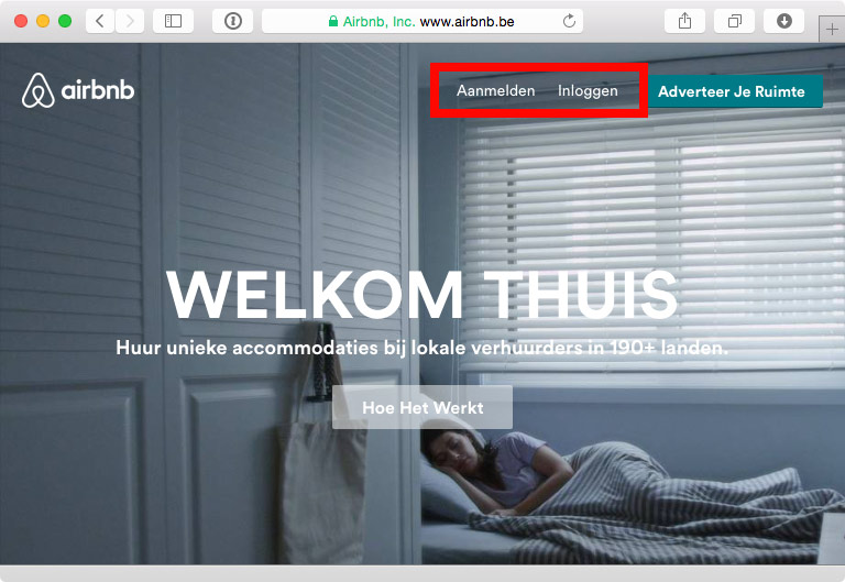 Airbnb and bad Dutch copy