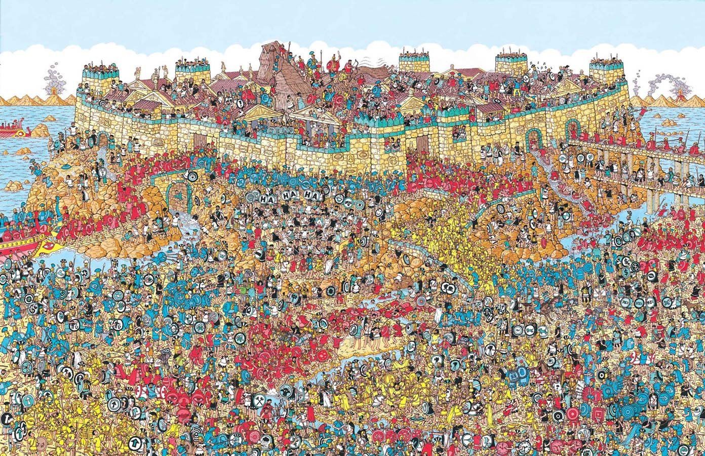 Page from Where is Waldo